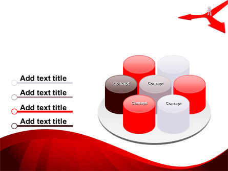 Direction Of Motion PowerPoint Template Slide 12