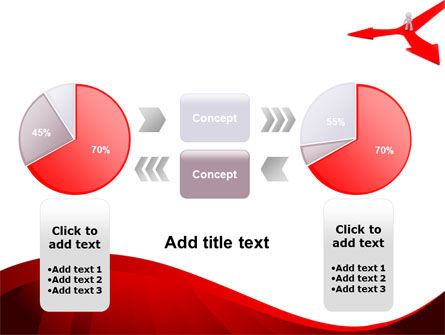 Direction Of Motion PowerPoint Template Slide 16