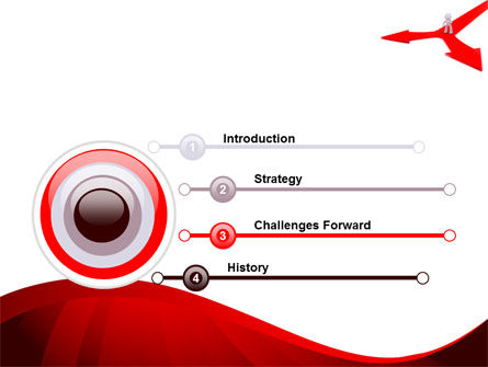 Direction Of Motion PowerPoint Template Slide 3