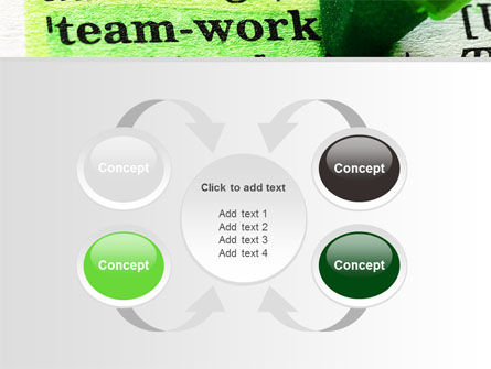 Teamwork Training Principles PowerPoint Template Slide 6