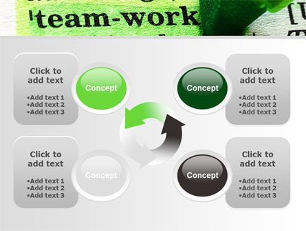 Teamwork Training Principles PowerPoint Template Slide 9
