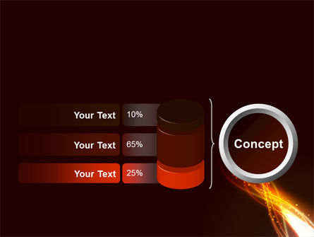 Fire Glow PowerPoint Template Slide 11