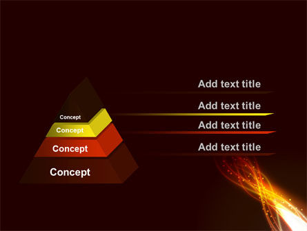 Fire Glow PowerPoint Template Slide 12