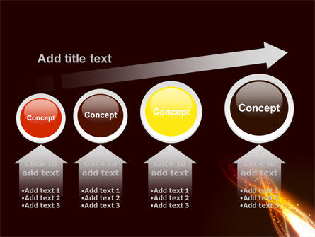 Fire Glow PowerPoint Template Slide 13