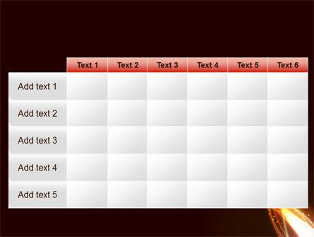 Fire Glow PowerPoint Template Slide 15