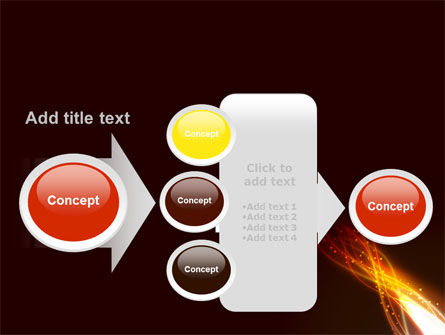 Fire Glow PowerPoint Template Slide 17