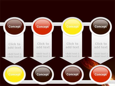 Fire Glow PowerPoint Template Slide 18