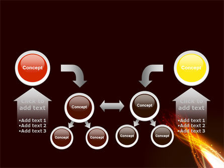 Fire Glow PowerPoint Template Slide 19