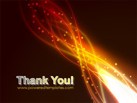 Fire Glow PowerPoint Template Slide 20