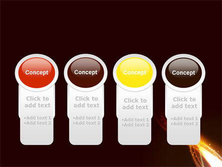 Fire Glow PowerPoint Template Slide 5