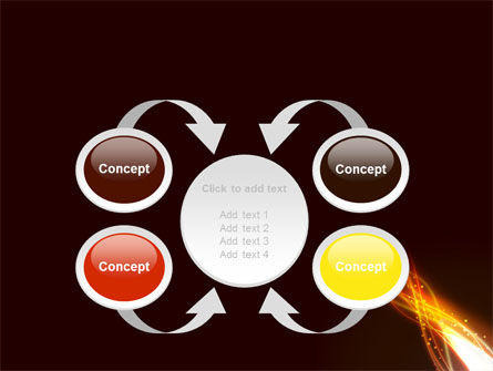 Fire Glow PowerPoint Template Slide 6