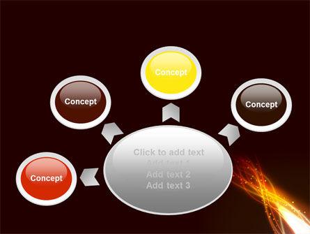 Fire Glow PowerPoint Template Slide 7