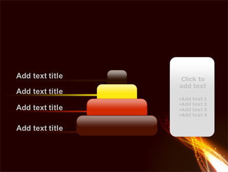 Fire Glow PowerPoint Template Slide 8