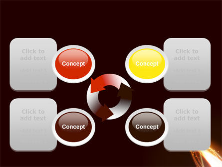 Fire Glow PowerPoint Template Slide 9