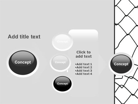 Breakthrough The Net PowerPoint Template Slide 17