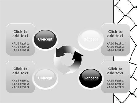Breakthrough The Net PowerPoint Template Slide 9