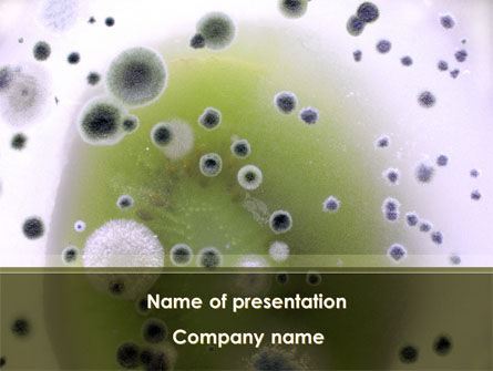 Medical: Mold PowerPoint Template #09104