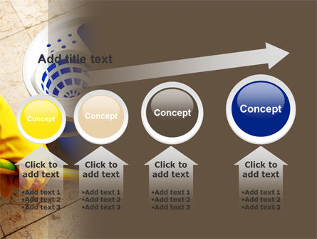 Cleaning PowerPoint Template Slide 13