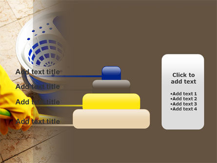 Cleaning PowerPoint Template Slide 8