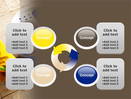 Cleaning PowerPoint Template Slide 9