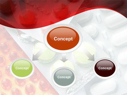 Tablets In Assortment PowerPoint Template, Slide 4, 09106, Medical — PoweredTemplate.com