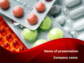 Medical: Tablets In Assortment PowerPoint Template #09106