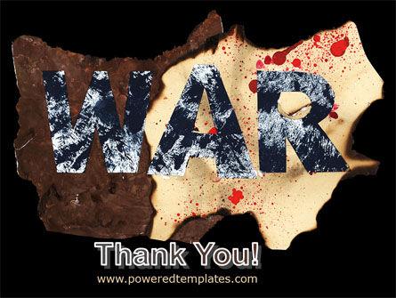 War PowerPoint Template Slide 20