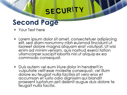Security Officer PowerPoint Template, Slide 2, 09108, Careers/Industry — PoweredTemplate.com