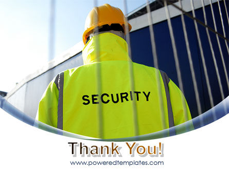 Security Officer PowerPoint Template Slide 20