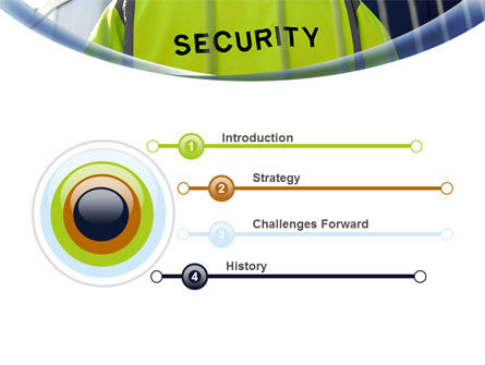 Security Officer PowerPoint Template, Slide 3, 09108, Careers/Industry — PoweredTemplate.com