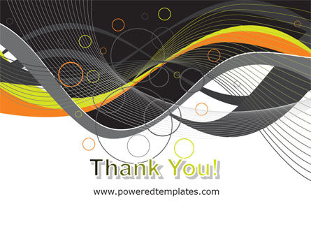 Gray Yellow Wave PowerPoint Template Slide 20