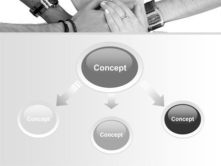 Hands To Hands PowerPoint Template Slide 4