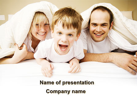 Modern Family PowerPoint Template, 09116, People — PoweredTemplate.com