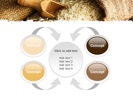 Grains Of Rice PowerPoint Template Slide 6