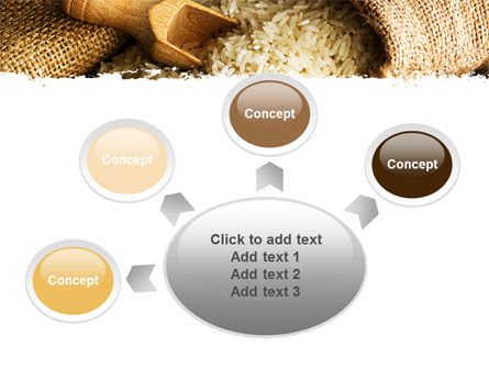 Grains Of Rice PowerPoint Template Slide 7