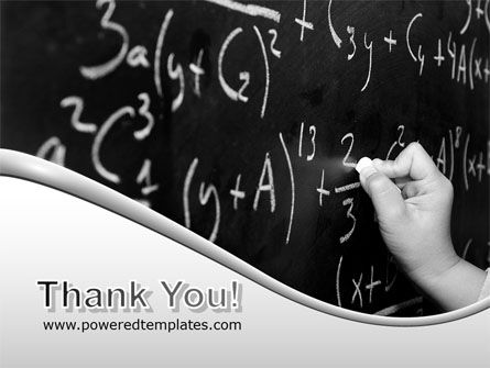 Mathematics Formulas PowerPoint Template Slide 20
