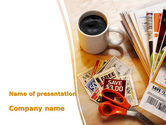 Food & Beverage: Discount Coupons PowerPoint Template #09120