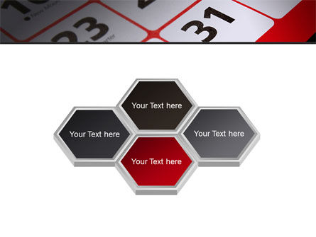 Table Calendar PowerPoint Template Slide 5