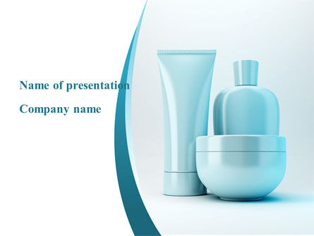 Technology and Science: Perfumery PowerPoint Template #09125
