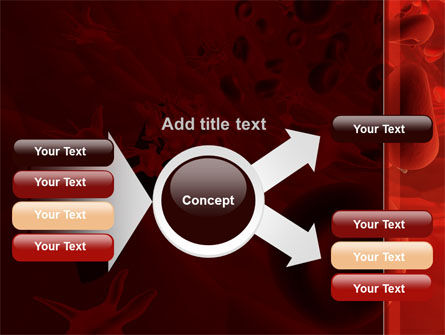 Blood and Virus PowerPoint Template Slide 14