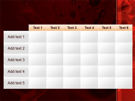 Blood and Virus PowerPoint Template Slide 15