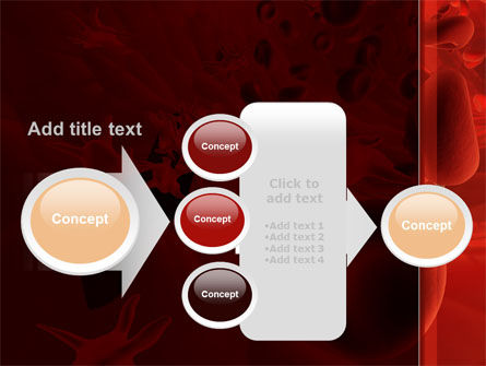 Blood and Virus PowerPoint Template Slide 17