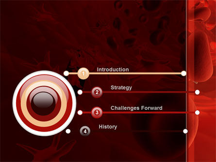 Blood and Virus PowerPoint Template Slide 3