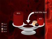 Blood and Virus PowerPoint Template#10