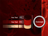 Blood and Virus PowerPoint Template#11