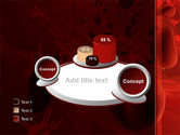 Blood and Virus PowerPoint Template#16