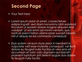 Blood and Virus PowerPoint Template#2