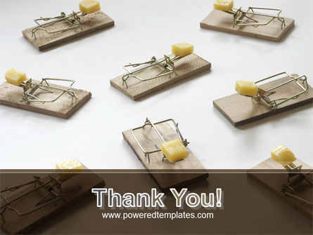 Mouse Traps With Cheese PowerPoint Template Slide 20