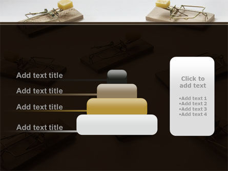 Mouse Traps With Cheese PowerPoint Template Slide 8
