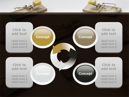 Mouse Traps With Cheese PowerPoint Template Slide 9